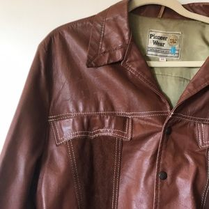 Vintage Fly Leather and Suede Jacket